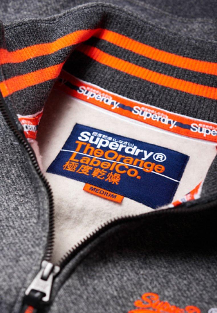 Superdry ORANGE LABEL - veste en sweat zippée - grey