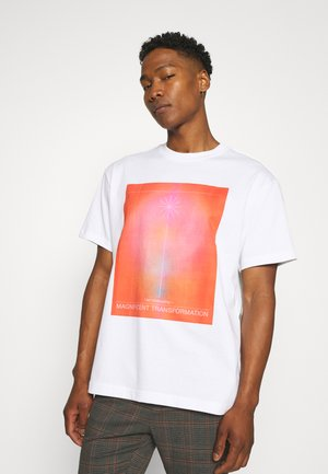STEFY - Printtipaita - off white