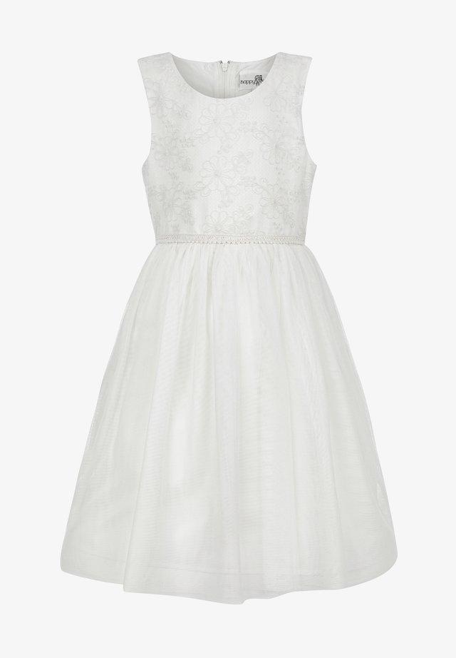 Sukienka koktajlowa - ecru