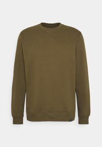CREW NECK  - Sweatshirt - dark olive