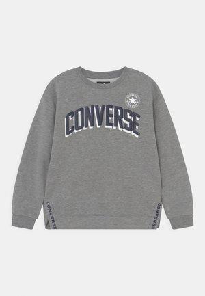 LOGO CREW SIDE VENTS UNISEX - Sweatshirt - dark grey heather