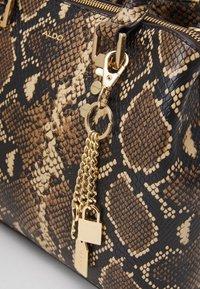 ALDO - SNAKE - Handbag - brown - 4