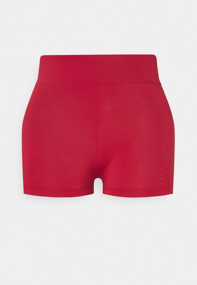 MID RISE SHORT SHORTS - Collants - red