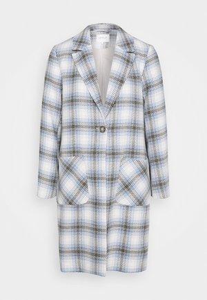 ONLATIA CHECK COAT  - Classic coat - pumice stone