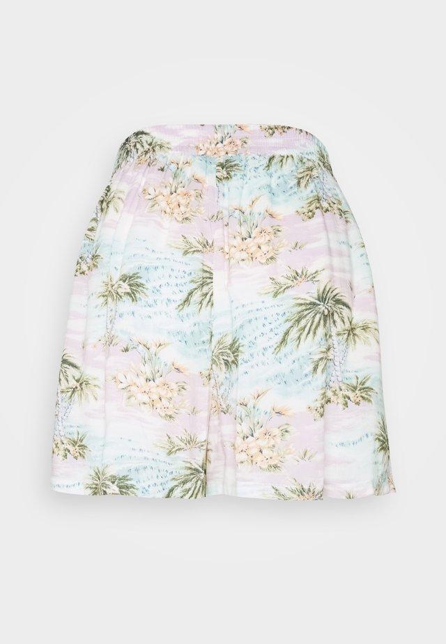 CORE SMOCKED WAIST  - Shorts - light blue