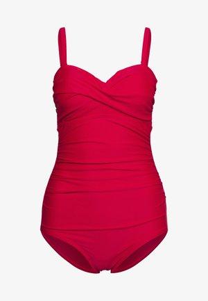 SANTA MONICA STRAPLESS CONTROL SWIMSUIT - Swimsuit - red