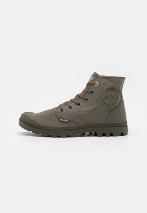 MONO CHROME UNISEX - Lace-up ankle boots - olive night