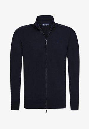 ENRICO - Zip-up sweatshirt - navy