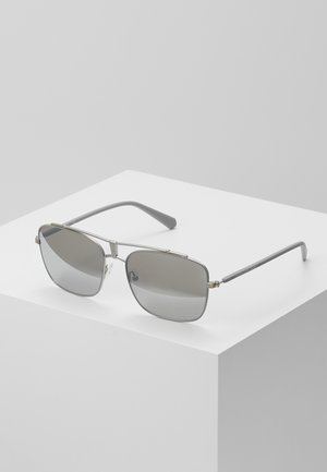 Sunglasses - matte light gray