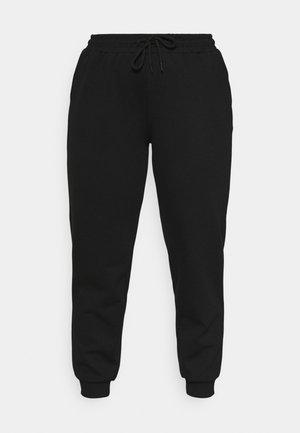 ONPLOUNGE PANTS CURVY - Verryttelyhousut - black