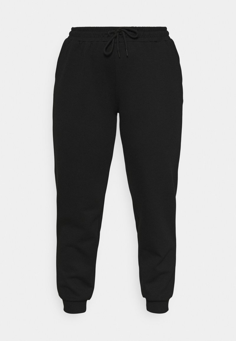ONLY Play - ONPLOUNGE PANTS CURVY - Tracksuit bottoms - black