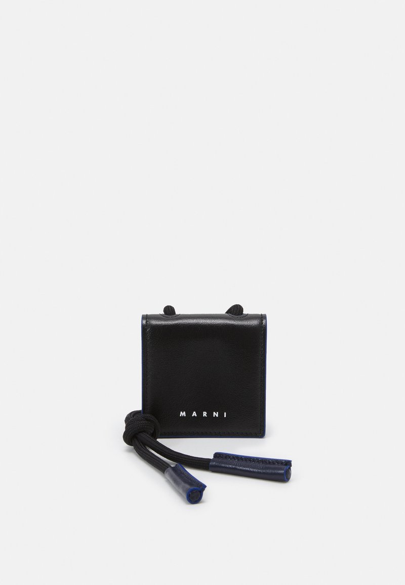 Marni - AIRPODS HOLDER UNISEX - Other accessories - black/navy blue