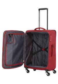 Travelite - KITE M - Wheeled suitcase - red - 4