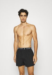 Lousy Livin Underwear - BRIEFS 2 PACK - Boxer shorts - black - 2