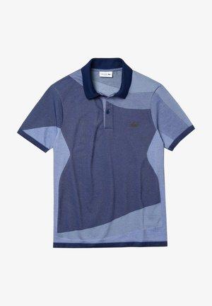Polo shirt - bleu marine violet