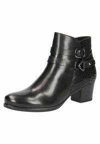 Caprice - STIEFELETTE - Korte laarzen - black comb - 2