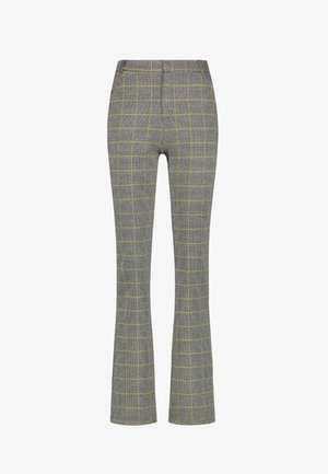 CHIARA CHECK VIS 138 - Trousers - curry