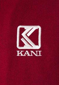 Karl Kani - BLEND COLLEGE JACKET - Bomber Jacket - darkred - 5