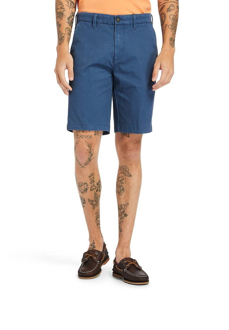 Timberland - SQUAM  - Shorts - dark denim
