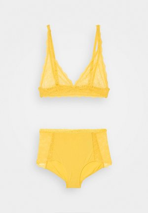 LONNIE AND JANE SET - Culotte - yellow medium dusty