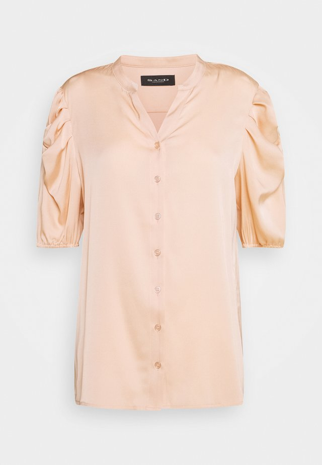 NAOLIN - Button-down blouse - nude