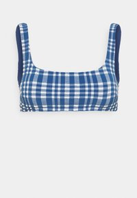 aerie - WIDE STRAP SCOOP - Bikini top - jeweled blue - 3