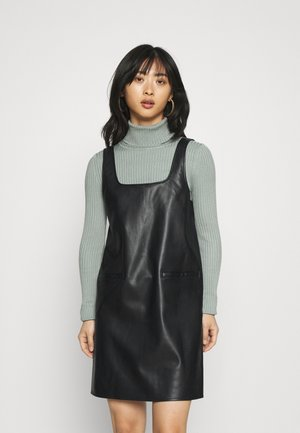 NMMILEY PINAFORE DRESS - Kjole - black