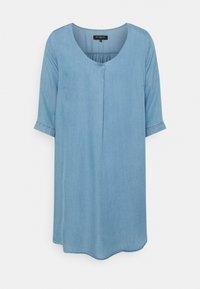 ONLY Carmakoma - CARJEMMA LIFE DRESS - Day dress - medium blue denim - 0