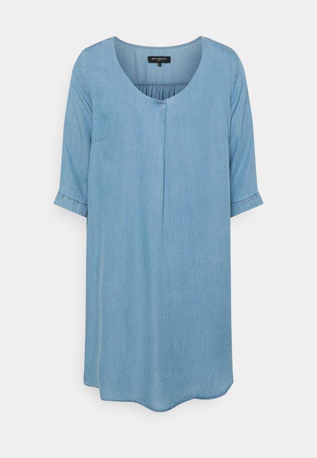 CARJEMMA LIFE DRESS - Robe d'été - medium blue denim