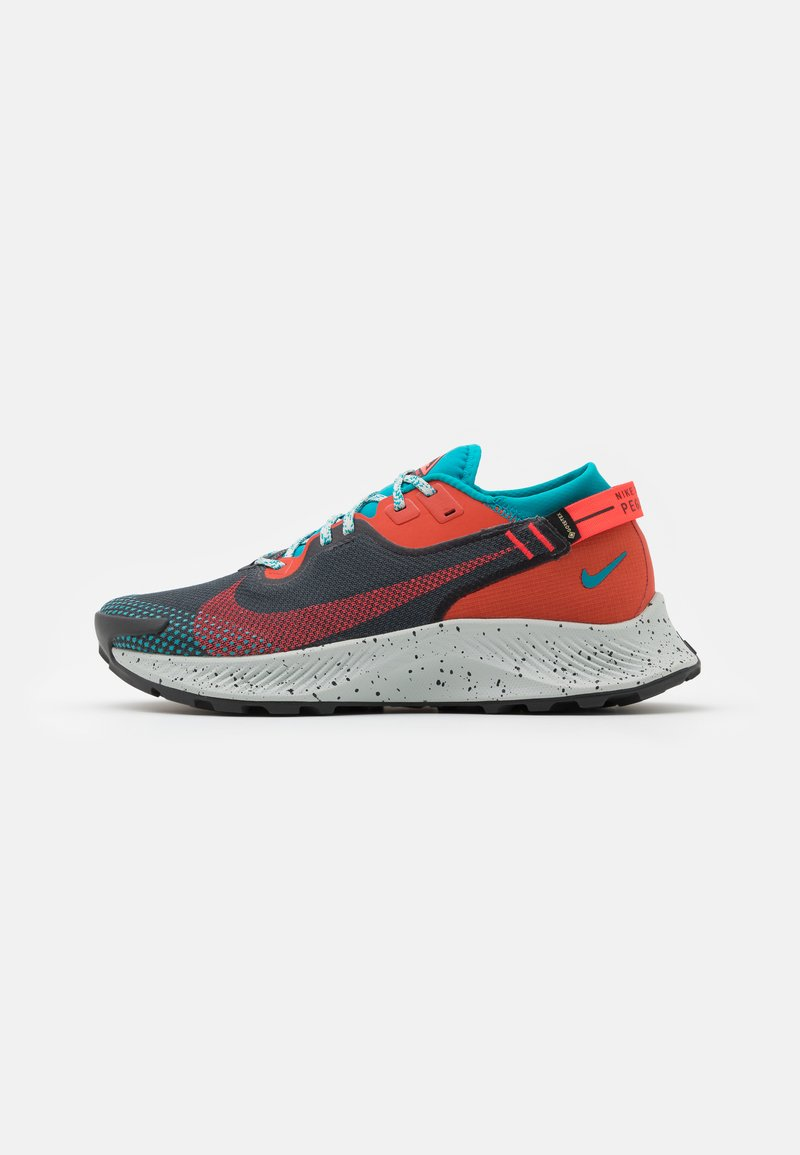 Nike Performance - PEGASUS TRAIL 2 GTX - Løbesko trail - dark smoke grey/bright crimson