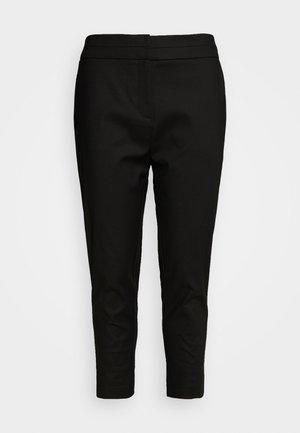 AUDREY HIGH WAIST PANT - Trousers - black