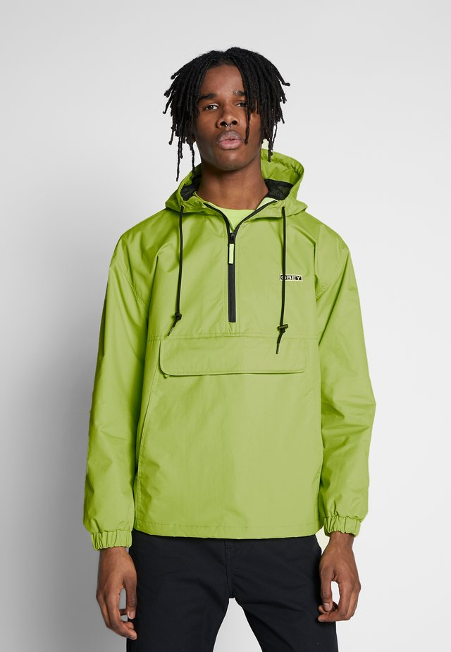 RECESS ANORAK - Summer jacket - key lime