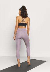 Nike Performance - THE YOGA 7/8  - Tights - purple smoke/heather/violet dust - 2