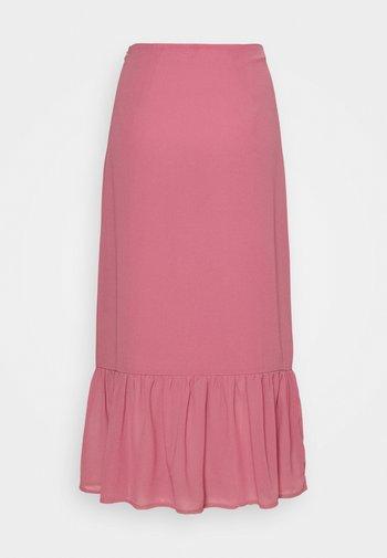 PALOMA TIERED MIDI SKIRT - Áčková sukně - taupe