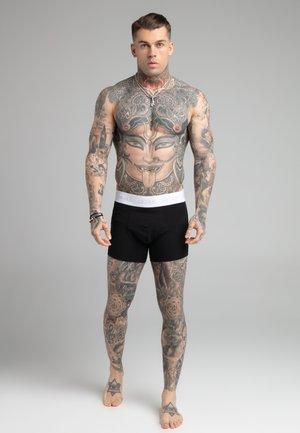 3 PACK - Pants - black/white/grey