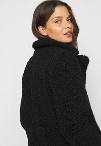 Noisy May Petite - NMGABI JACKET - Classic coat - black - 3
