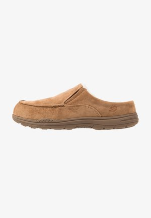 EXPECTED X-VERSON - Slippers - tan