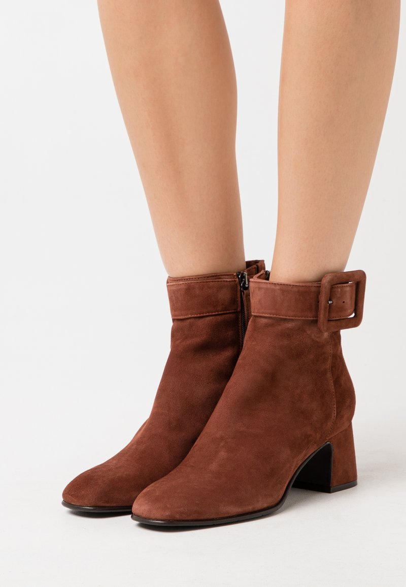 Hash#TAG Sustainable - Bottines - cygar brown