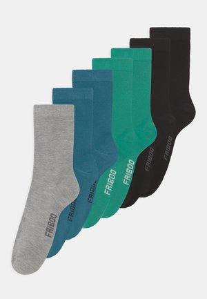 7 PACK - Sokken - grey/blue/black
