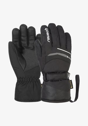 Gloves - black white