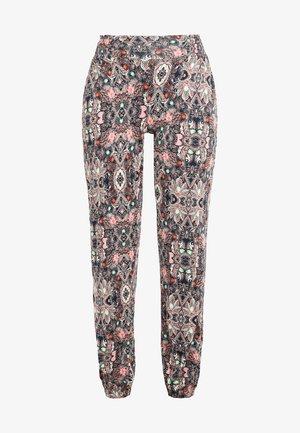 Trousers - marine-bedruckt