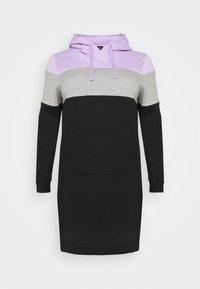 Day dress - lilac/white/black