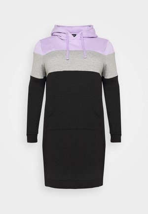 Day dress - lilac/white/black