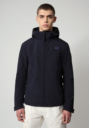 SHELTER HOOD - Light jacket - blu marine