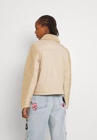 Noisy May - NMTANYA JACKET - Light jacket - beige - 2