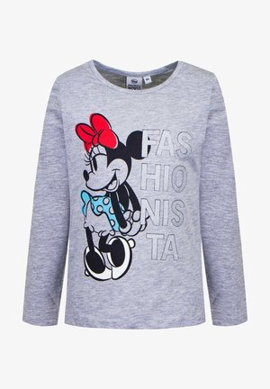 Mickey & Minnie - Long sleeved top - grau