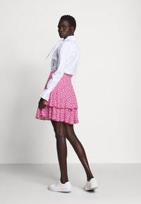 Diane von Furstenberg - MARGAUX - Áčková sukně - pink - 2