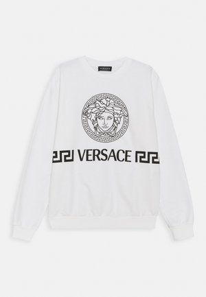 MEDUSA GREEK UNISEX - Sweatshirt - white/black