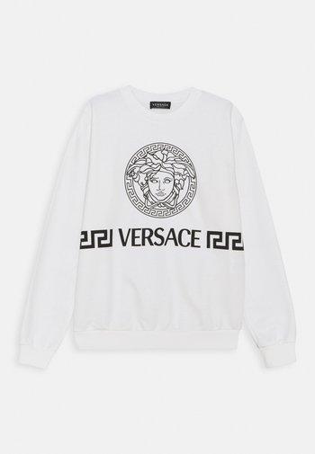 MEDUSA GREEK UNISEX - Sweatshirt - white/black