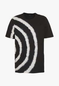 Diesel - JUST - Print T-shirt - black/white - 3